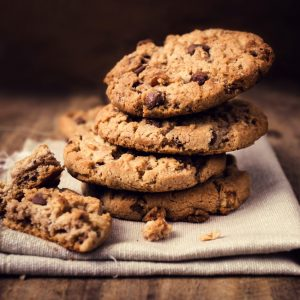 Oatmeal, Chocolate Chip & Pecan Cookies