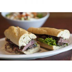 Steak Sandwiches with Herbs