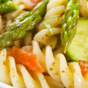 Black Pepper Pasta Salad with Proscuitto