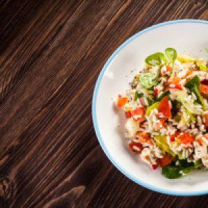 Wild Rice and Turkey Salad
