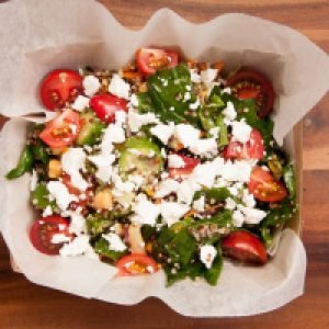 Tomato and Cucumber Salad with Feta