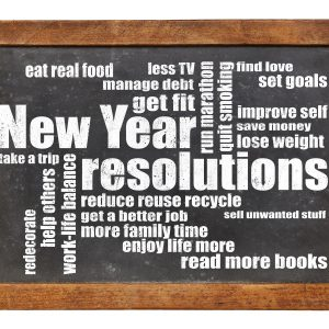 New Year's Resolutions are Out! Healthy Strategies are In!