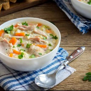 Speedy Chicken Soup